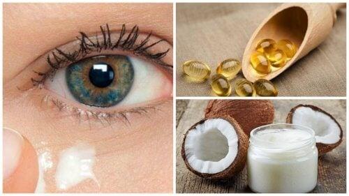 كريم جوز الهند الطبيعي لاستعادة شباب بشرة محيط العينين