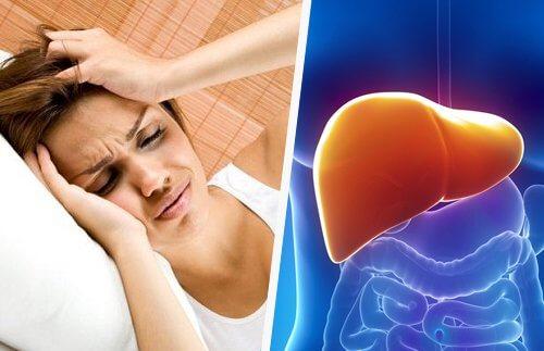 يؤثر الكبد على الجسم كله