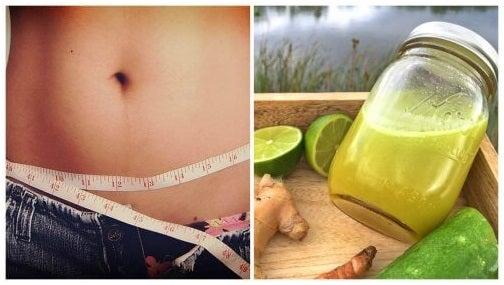 تراكم الدهون في منطقة البطن - استهلك كوبًا واحدًا من هذا المشروب قبل النوم يوميًا