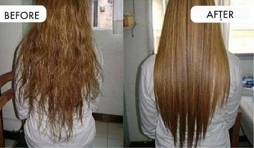 تمليس الشعر بمكونات طبيعيّة من مطبخك