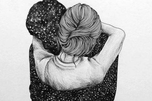 الارتباك العاطفي : ضمني إليك بقوة وامنح قلبي الطمأنينة