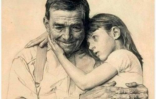 أجدادنا يعيشون في قلوبنا - كيف تساعد طفلك على وداع أحد الأجداد؟