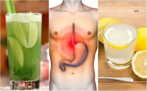 أحماض المعدة – أفضل 5 علاجات منزلية طبيعية لمواجهة مشكلة الحموضة