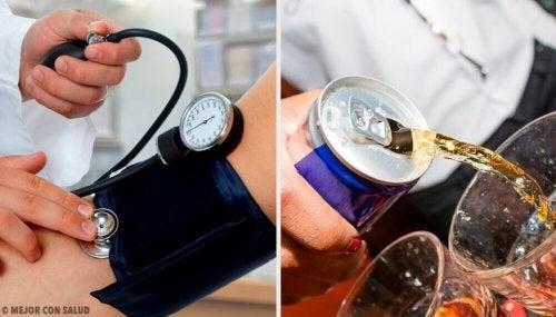 ارتفاع الضغط – مشروبات شائعة تؤدي إلى زيادة ضغط الدم يجب عليك تجنبها