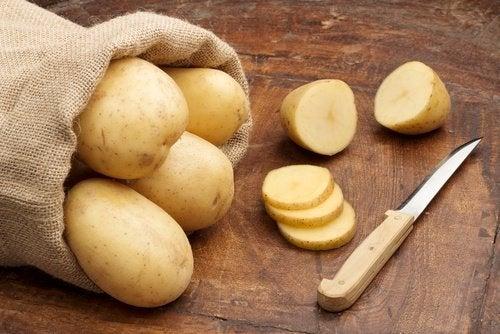 شرائح البطاطس