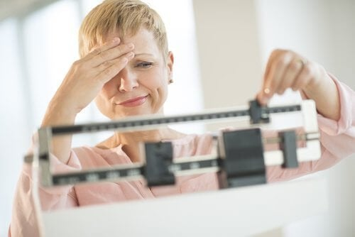 زيادة الوزن الغير مفسرة