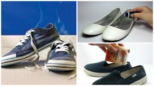 رائحة الأحذية الكريهة – تخلص منها مع هذه الحيل المنزلية الرائعة