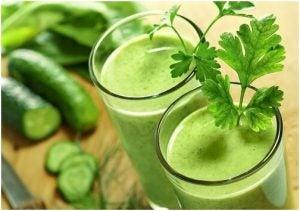 عصير أخضر مفيد في خسارة الوزن