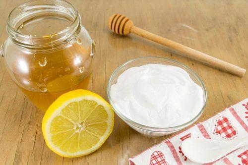 مزيج بيكربونات الصودا والعسل