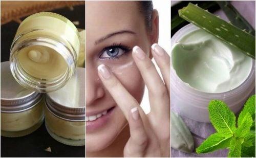 كريمات العينين – 5 أنواع طبيعية للحفاظ على صحة بشرتك
