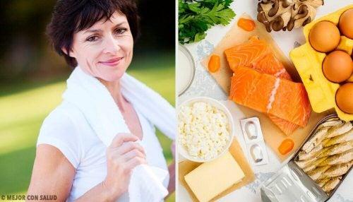 العناصر الغذائية المهمة التي تحتاجها بشدة بعد سن الأربعين