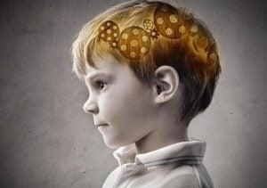 صورة تخيلية لعقل طفل صغير