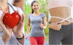 فتاة تمارس رياضة المشي من أجل خسارة الوزن