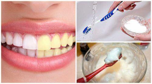 إستخدام صودا الخبز في تبييض الأسنان