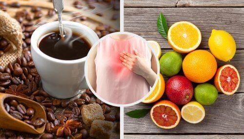 مجموعة من الأطعمة والمشروبات الصحية