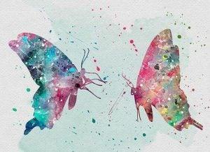 الحرية والفراشات