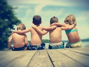 مجموعة أطفال
