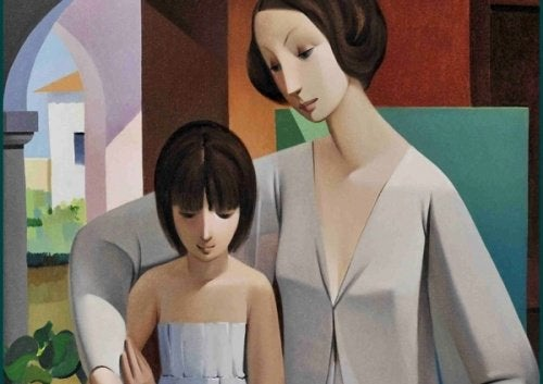 العلاقة الحميمة والعاطفية بين الأم وابنتها
