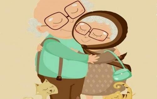 الحب الحقيقي وكيف يمكن أن يتجاوز السنين والتجاعيد والوقت