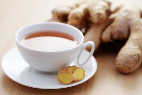 شاي الزنجبيل و التغلب على التعب