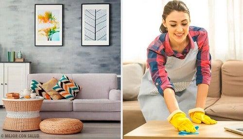 ترتيب المنزل – إليك أفضل 5 عادات تساعدك في الحفاظ على ترتيب ونظافة منزلك