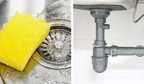 رائحة الصرف والأنابيب السيئة – تخلص منها بهذه الحيلة الطبيعية البسيطة