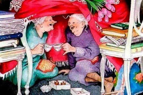 عندما أتقدم في العمر، أريد أشخاص بجانبي يتمتعون بشباب القلب