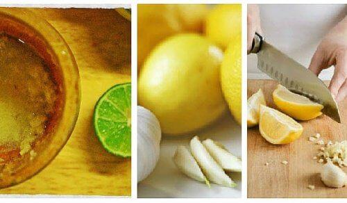 علاج الثوم والليمون الفعال للتخلص من دهون البطن