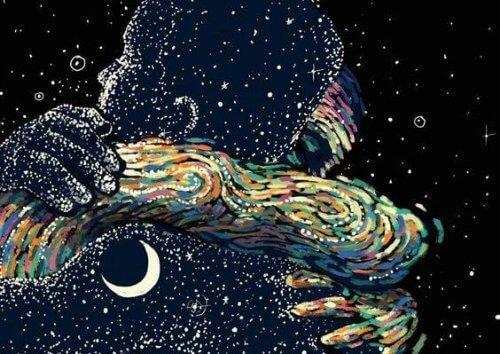 عناق ونجوم