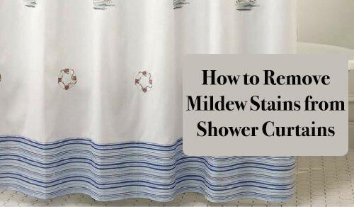 ستائر الحمام - كيفية إزالة بقع ستائر الحمام بطرق سهلة وبسيطة!
