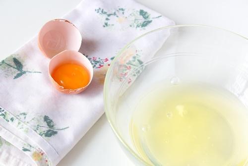 ماسك بياض البيض