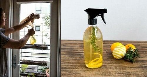 معطر جو للاستخدام داخل المنزل ومصنوع من قشر الليمون