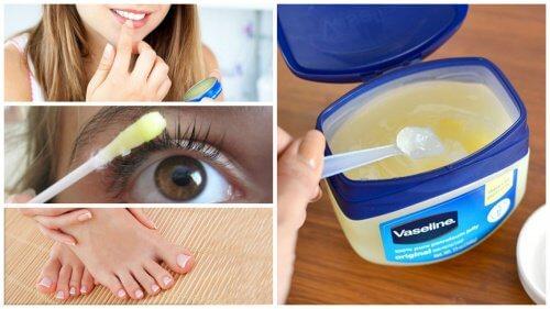 12 استخدامًا للفازلين كأحد مستحضرات التجميل الأكثر فعالية