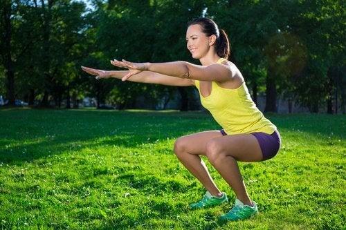 ترهلات الساقين – 6 تمارين رياضية رائعة للتخلص من ترهلات الساقين
