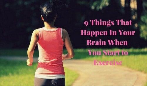التمارين الرياضية وصحة المخ – 9 أشياء تحدث في مخك عندما تبدأ في ممارسة الرياضة