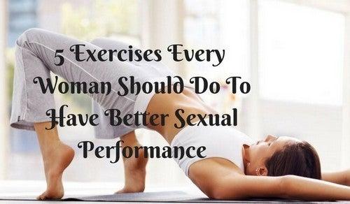 العلاقة الجنسية - 5 تمرينات يجب أن تمارسها كل امرأة لعلاقة حميمة أفضل