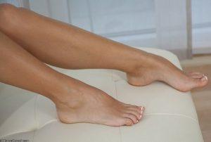 نقع الأقدام بالماء