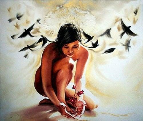 الروح كالزهرة يجب عنايتها