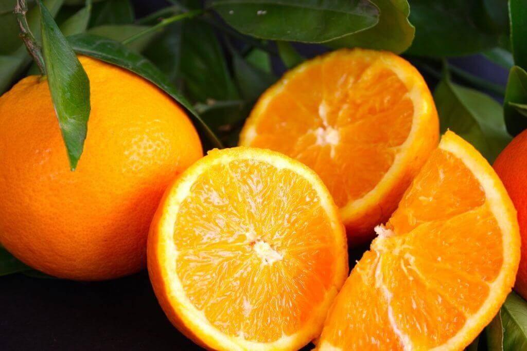 البرتقال ووصفات الدجاج