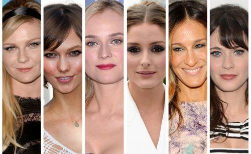 مشاهير بقصات شعر مختلفة حسب شكل الوجه