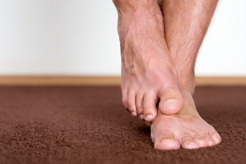 علاج القدمين