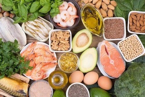 عناصر غذائية غنية بالبروتين الطبيعي