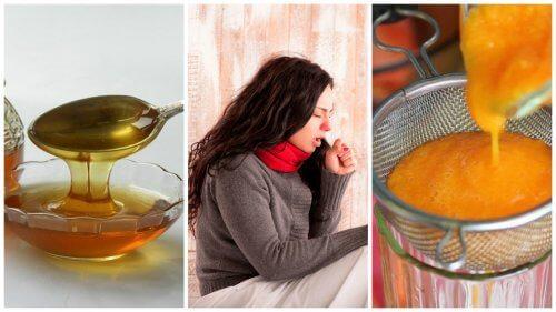شراب العسل والجزر المركز – علاج طبيعي لمكافحة البلغم