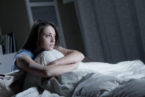 النوم غير الكافي