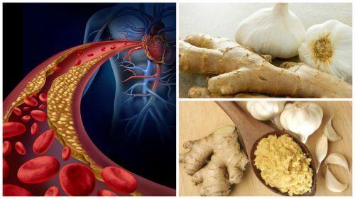 ضغط الدم والكوليسترول – وصفة الزنجبيل والثوم لتخفيف ضغط الدم والكوليسترول