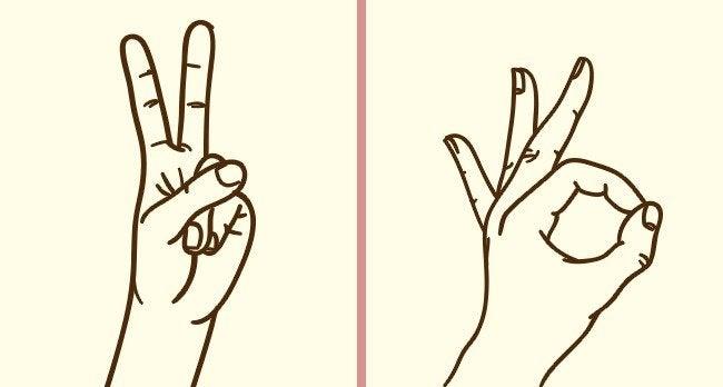 إشارات الأصابع