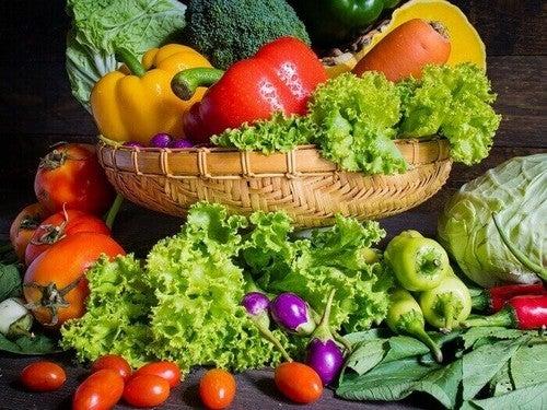 الخضراوات للوقاية من الفصال العظمي