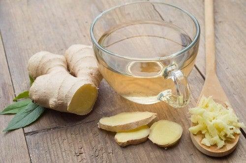 شراب الزنجبيل لعلاج التهاب المعدة