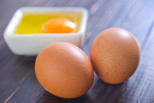 قناع البيض والعسل