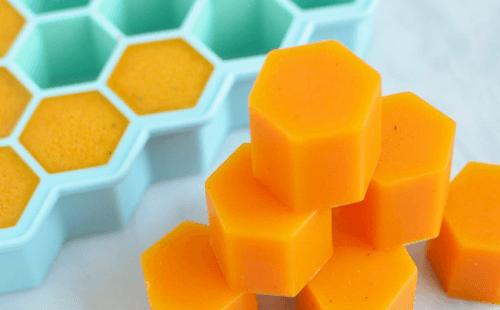 فوائد مكعبات جيلاتين العسل والكركم